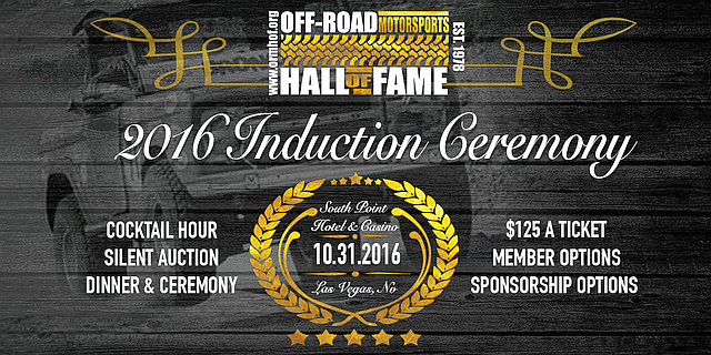 Off-Road Motorsports Hall of Fame Induction Ceremony
