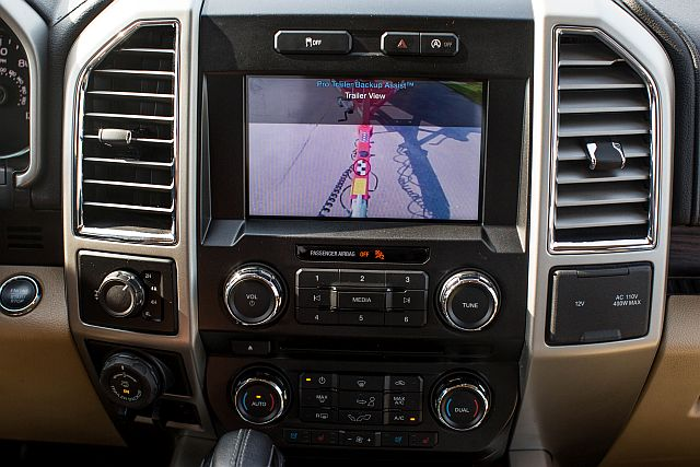 Ford F-150 Trailer Assist Display Panel