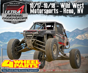 Ultra4 2015 National Champion Unlimited 4 Wheel Drive Racing