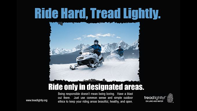 Ride Hard Tread Lightly